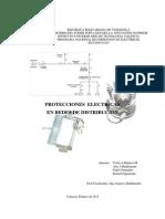 Protecciones Electricas en Sistemas de Distribucion