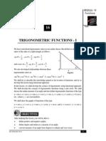 Trigonometry and geometry