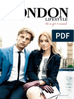 My London Lifestyle Media Pack 2014