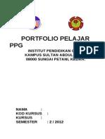 Panduan Portfolio Ppg Ksah