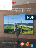 Midshire Business Systems - Sharp Video Wall - PN V601 Brochure