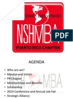 NSHMBA 2014 Kick Off Presentation