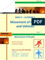 NEBOSH IGC2 Elements 1 - Movement of people and vehicle
