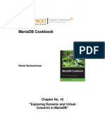 9781783284399_MariaDB_Cookbook_Sample_Chapter