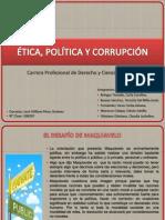 ÉTICA, POLÍTICA Y CORRUPCIÓN - DERECHO