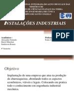 PROJETO DE INSTALAÇÕES INDUSTRIAIS(1)