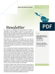 Newsletter RESDAL Marzo 2014