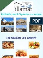 Gründe, nach Spanien zu reisen