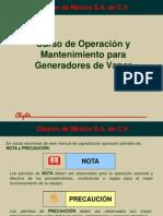 Curso Operacion y Mantenimiento Generadores de Vapor