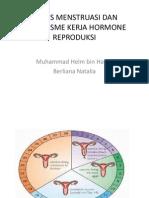 Siklus Menstruasi Dan Mekanisme Kerja Hormone Reproduksi