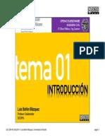 Tema 01 - Introducción