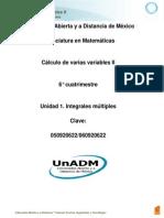 U1. Integrales Multiples