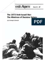 The 1973 Arab-Israeli War