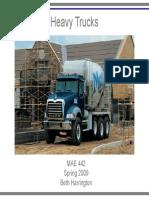 MAE 442 Heavy Trucks 1