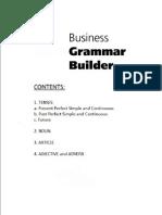 Business Grammar 2nd Sem