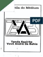 Apostila do Medium - Tenda Espirita Vovô Andre da Bahia