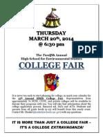 College Fair Flyer 3 2014