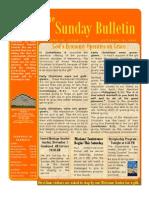 The Sunday Bulletin