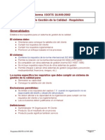 Requisitos ISO TS 16949 2002