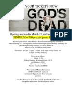 God's Not Dead Flyer