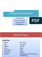 hymen imperforata