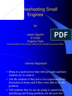 Troubleshooting Small Engines
