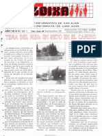 LLOIXA. Número 67 septiembre/setembre, 1988. Butlletí Informatiu de Sant Joan. Boletín informativo de Sant Joan.  Autor