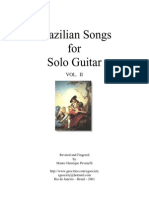 Brazilian Songs for Solo Guitar Vol.2