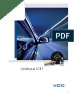 Vdo Catalogue 2011