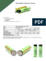 Panasonic NCR18650