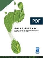Going Green - Minimizing Aviation's Environmental Footprint at Airports