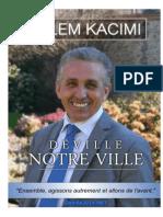 Programme - Salem KACIMI