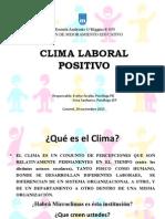Clima Laboral Positivo