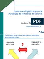 01 Carlos Arcila - Nueva Normativa Sobre Durabilidad ACI 318-08
