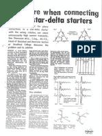 Star-Delta Wiring Design