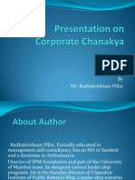 Presentation on Corporate Chanakya