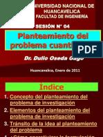 - SESION N° 04 - PLANTEAMIENTO DEL PROBLEMA