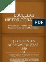 ESCUELAS-HISTORIOGRAFICAS
