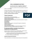 CAMPO ACCIÓN DE LA INGENIERÍA ELÉCTRICA