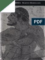 Martin Heidegger - Parménides