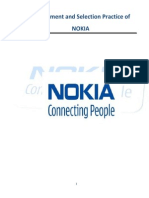 recruitment process of NOKIA