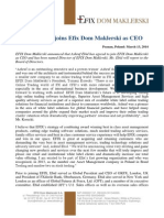 Ashraf Ebid joins Efix Dom Maklerski as CEO