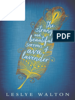 The Strange and Beautiful Sorrows of Ava Lavender by Leslye Walton - prologue