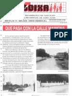 LLOIXA. Número 71 enero-febrero/gener-febrer, 1989. Butlletí Informatiu de Sant Joan. Boletín informativo de Sant Joan.  Autor