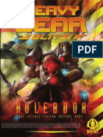 Heavy Gear - Blitz! Rulebook