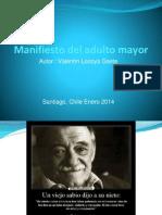 Manifiesto Del Adulto Mayor (Presentación)