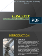 Concrete-Classification,Types and Testing