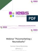 "Webinar ""Psicomarketing y Neurodiseño"""