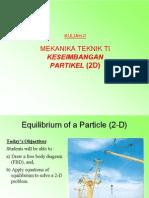 Kul3 Particle Equilibrium