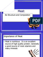 Module 1 Meat Structure and Composition